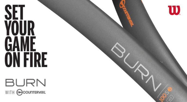 Wilson Burn tennis racket