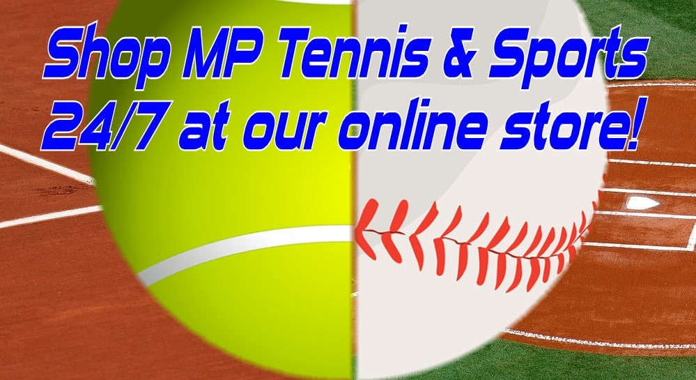 MP Tennis & Sports online store banner