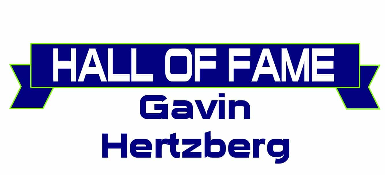 Hall of Fame Gavin Hertzberg