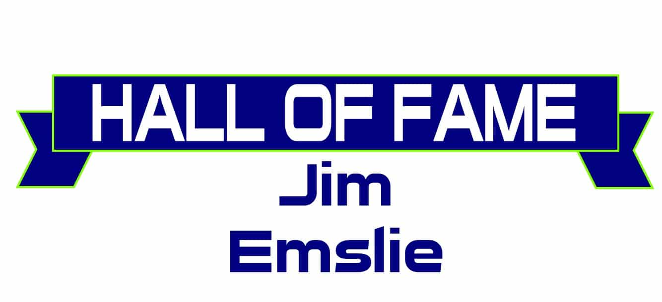 Hall of Fame Jim Emslie