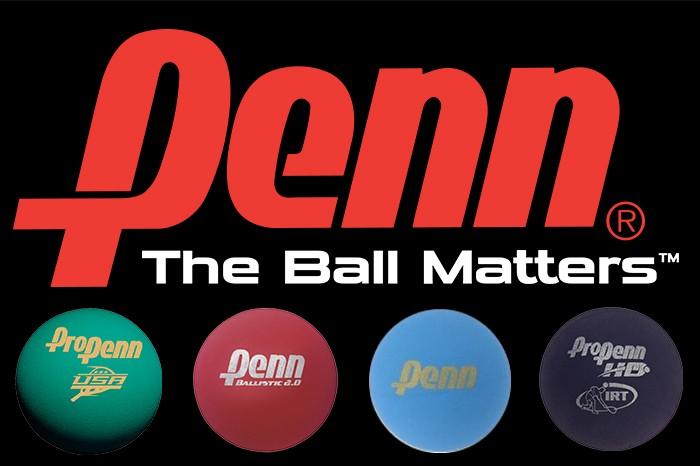 Penn racquetball banner