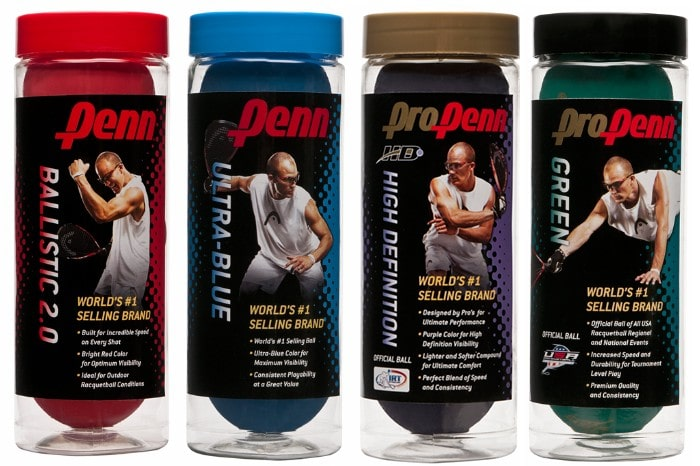 Penn racquetballs