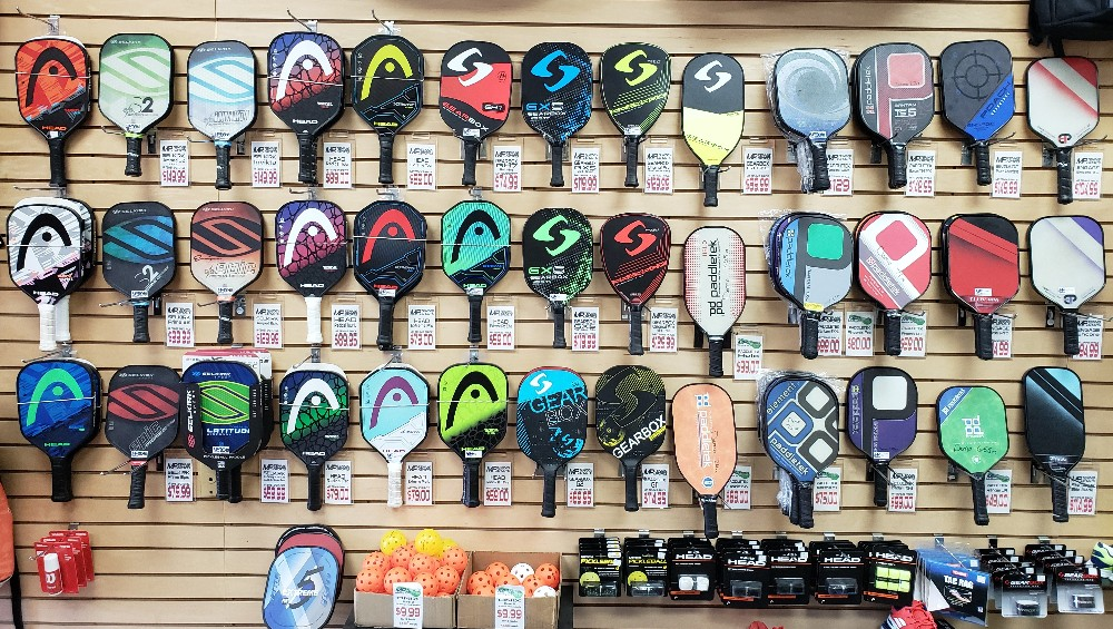 At MP Tennis & Sports, we have a huge selection of pickleball paddles