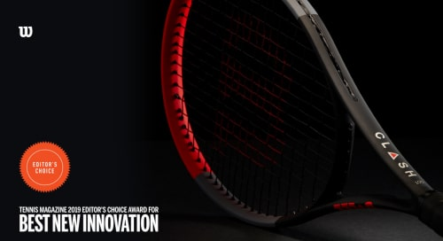 Wilson Clash named Tennis Magazine's Best New Innovation for 2019