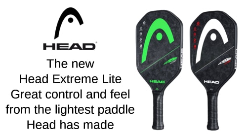 The new Head Extreme Lite, Head's lightest paddle to date