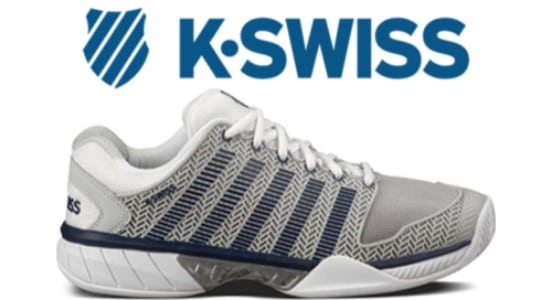 The K-Swiss Hypercourt tennis shoes, available for men, women and kids