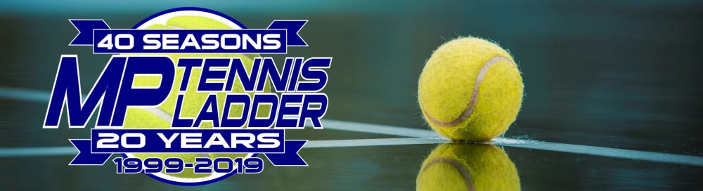 The 40th season of the MP Tennis Ladder starts on September 3rd