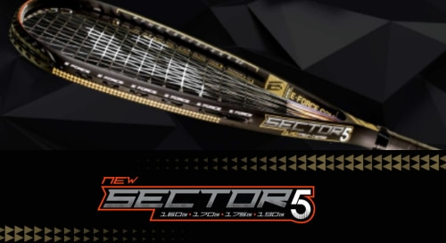 E-Force Sector 5 rackets