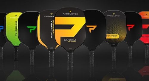 New Paddletek pickleball paddles