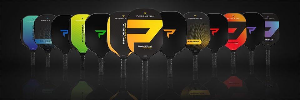 The new line of Paddletek paddles