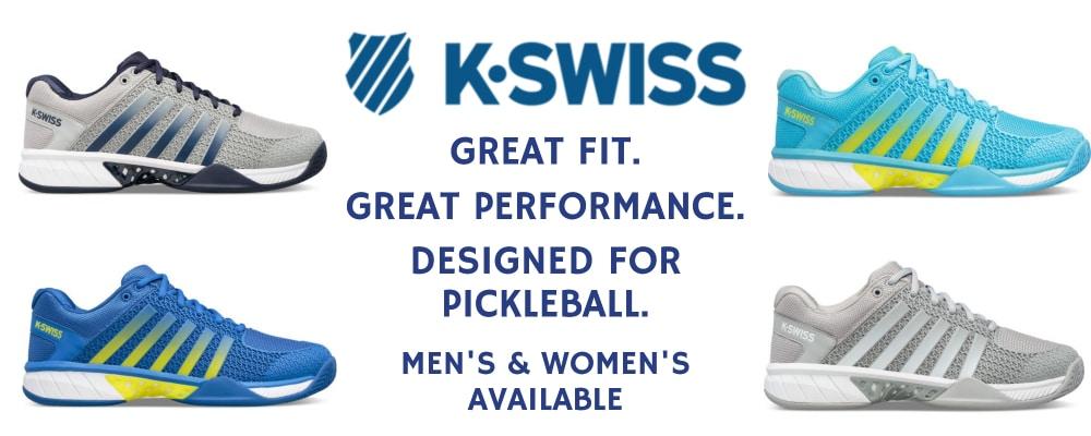 K-Swiss pickleball shoes