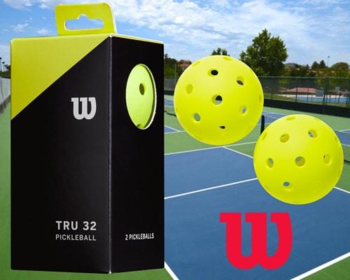 Wilson TRU32 picklenballs