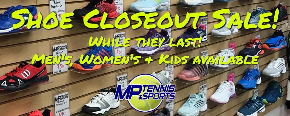 shoe closeout sale